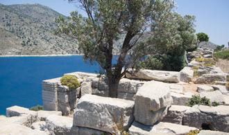 Auf etlichen Insern der nördlichen Adria finden sich historische Ruinen längst vergangener Hochkulturen